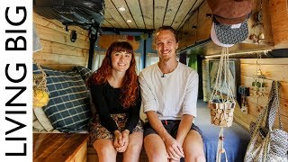 Couple Convert Van For Full Time Living And Travel In Australia