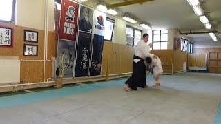 yokomen uchi uchi kaitennage [AIKIDO]  basic technique