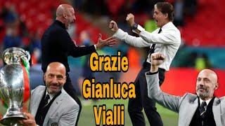 OMAGGIO a GIANLUCA VIALLI EURO2020, LEADER e SIMBOLO dell'ITALIA