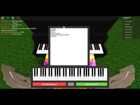 Roblox Piano Keyboard Don T Forget Easy Sheet Youtube