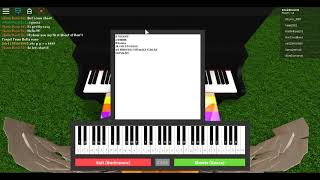 Roblox Piano Keyboard - ♫Don't Forget♫ [Easy Sheet]