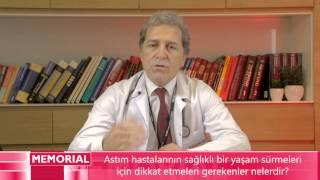 Astım hastalarının dikkat etmeleri gerekenler nelerdir? - Prof. Dr. Metin Özkan