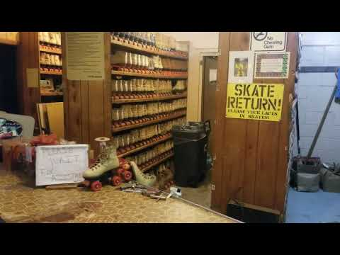 I'm Giving A Tour Of The Roller Skating Rink In Pennsboro, W.V