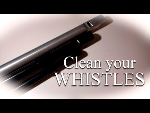 How to clean a Tin Whistle | Tutorial