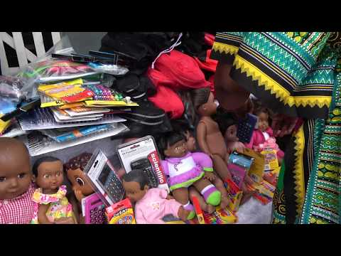 At Trinity Foundation School & Orphanage - Ghana May 2018 Tour