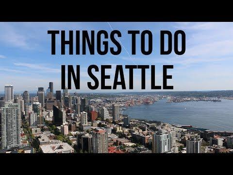 THINGS TO DO IN SEATTLE, WASHINGTON! // Seattle Vlog