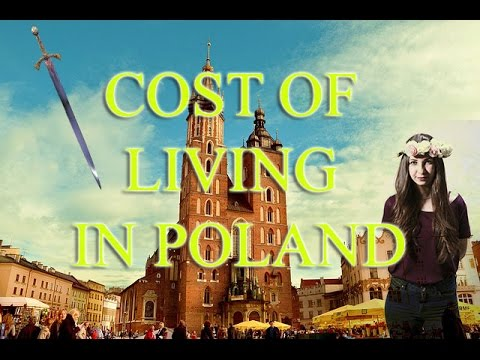 Cost of living in Poland (with time-lapse)