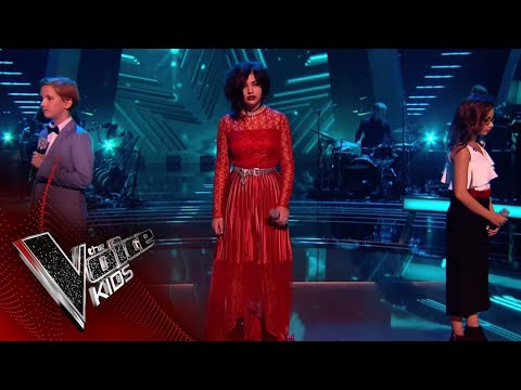 Persia, Yaroslav and Natasha Perform 'Bring Me to Life': Battles 1 | The Voice Kids UK 2018