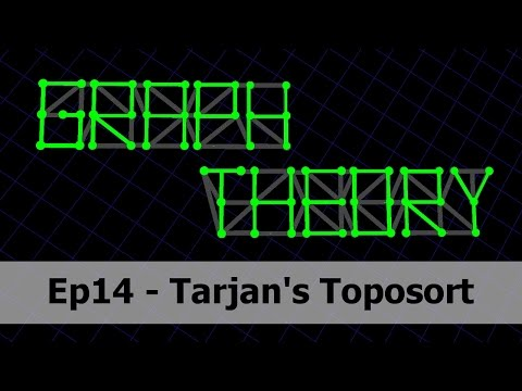 Tarjan's Toposort Algorithm - Graph Theory 14