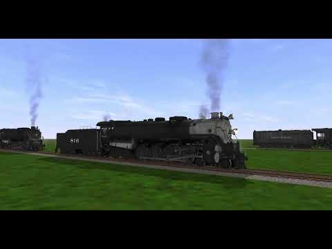 Trainz A New Era: 4-8-4 Steam Locomotives