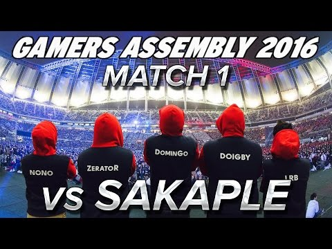 GA 2016 : Match 1 vs SAKAPLE