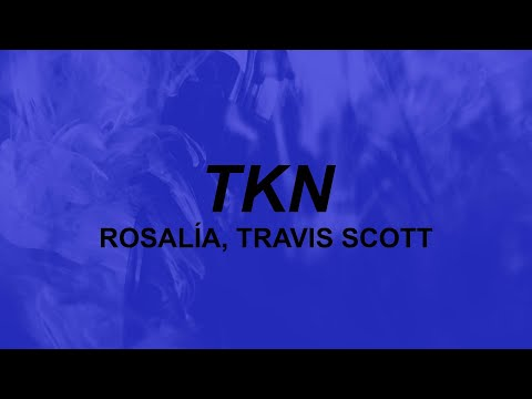 ROSALÍA, Travis Scott – TKN (lyrics) | she got hips I gotta grip for | TikTok