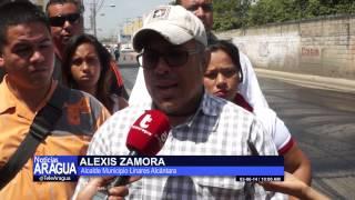 Se colocaron 1200 toneladas de asfalto en Francisco Linares Alcántara