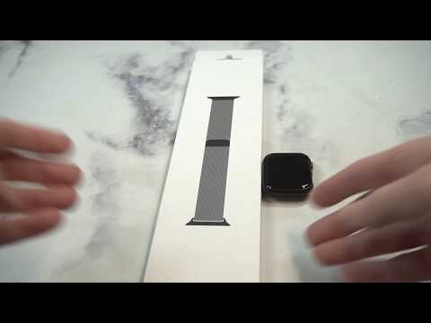 Official Apple Watch Milanese Loop Space Black Unboxing and Review