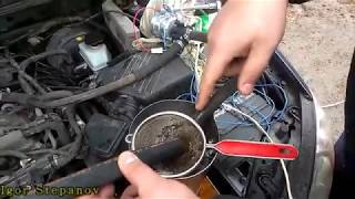Промывка (чистка) радиатора печки без снятия на Kia Cerato