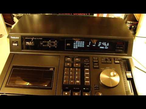 TECHNICS SL-P1200 PROFESSIONAL CD PLAYER TEST