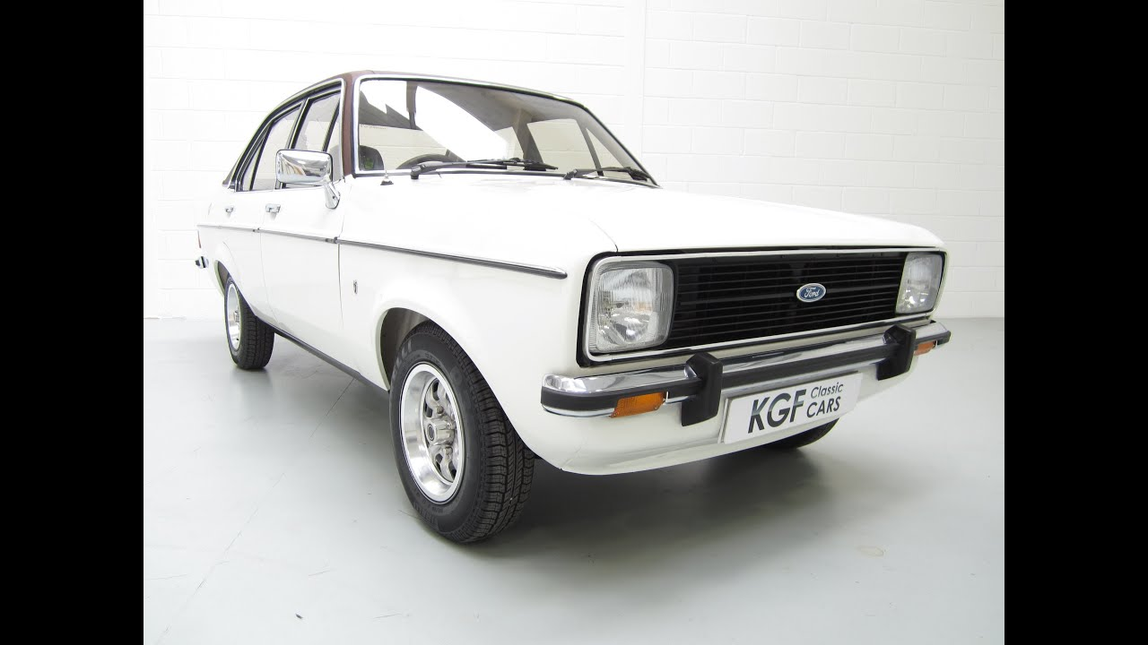 Show Winning Ford Escort Mk2 1600 Ghia, Perfect and only Two ...