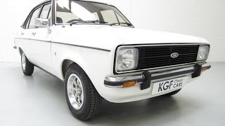 Show Winning Ford Escort Mk2 1600 Ghia, Perfect and only Two Owners - SOLD!