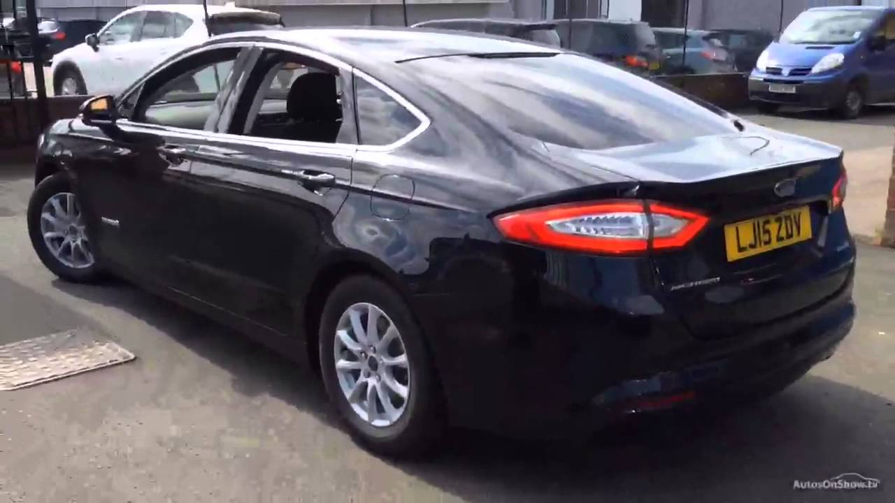 ford mondeo titanium hev black 2015 youtube. Black Bedroom Furniture Sets. Home Design Ideas