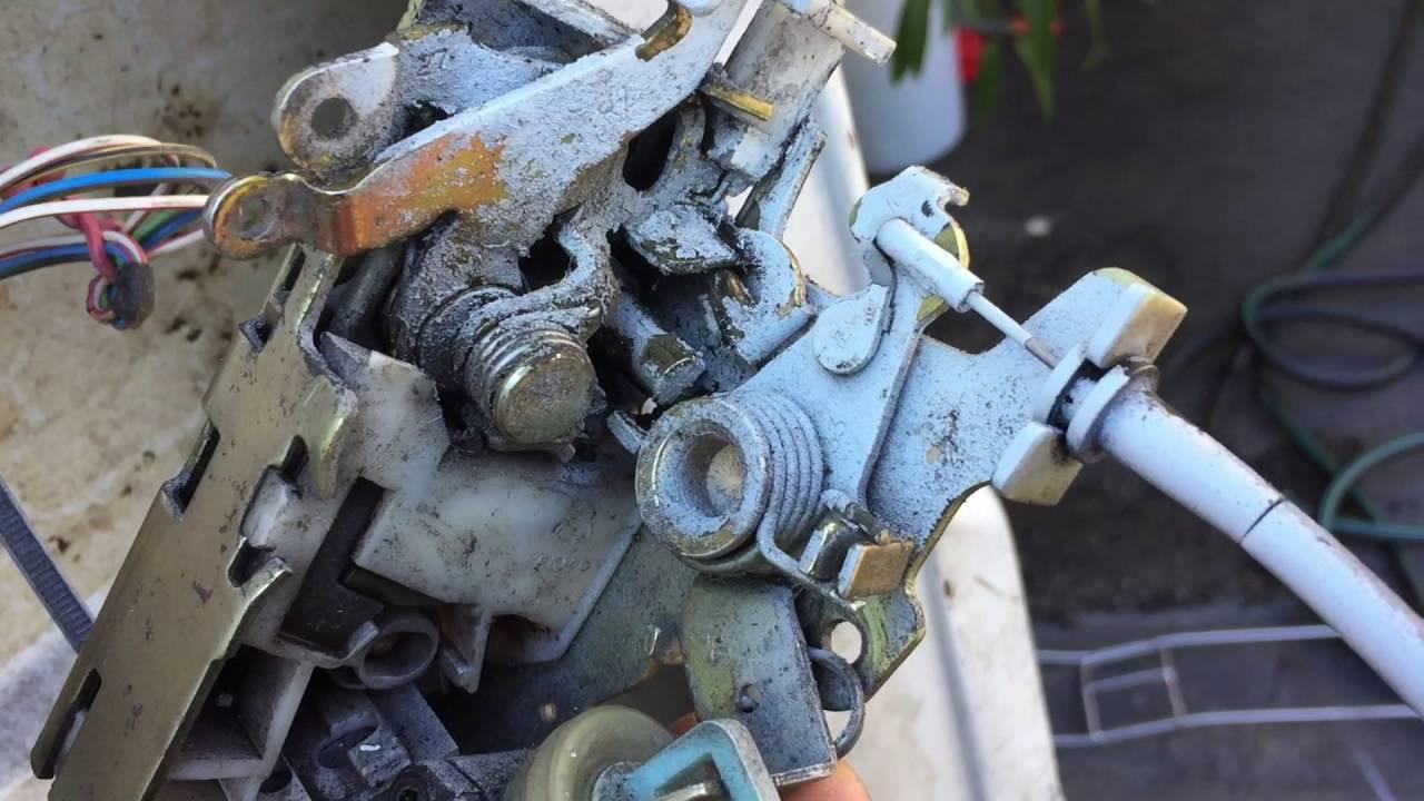 sprinter freightliner 2500 shc remove door handle fix stuck lock [ 1280 x 720 Pixel ]