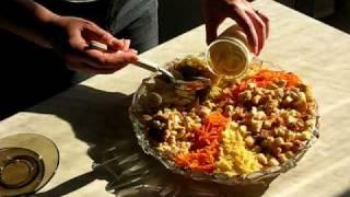 """""""Golden Glade"""" Salad Cooking / Приготовление салата """"Золотая поляна"""""""