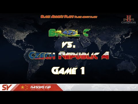 SY Nations Cup 2017, GL, R2 - Brazil C vs. Czech Republic A, G1 - Age of Empires II: The Conquerors