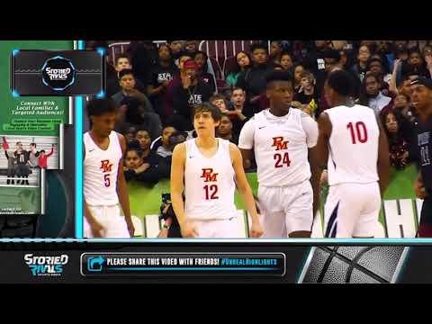 Purcell Marian High School Basketball State Final 4 | Bryan Warah Highlights