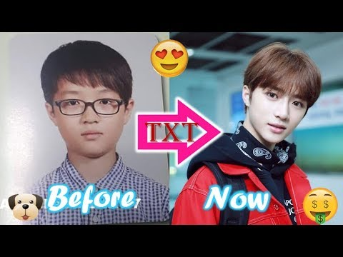 TXT BEOMGYU - Predebut Vs Now : Before and Now - YouTube