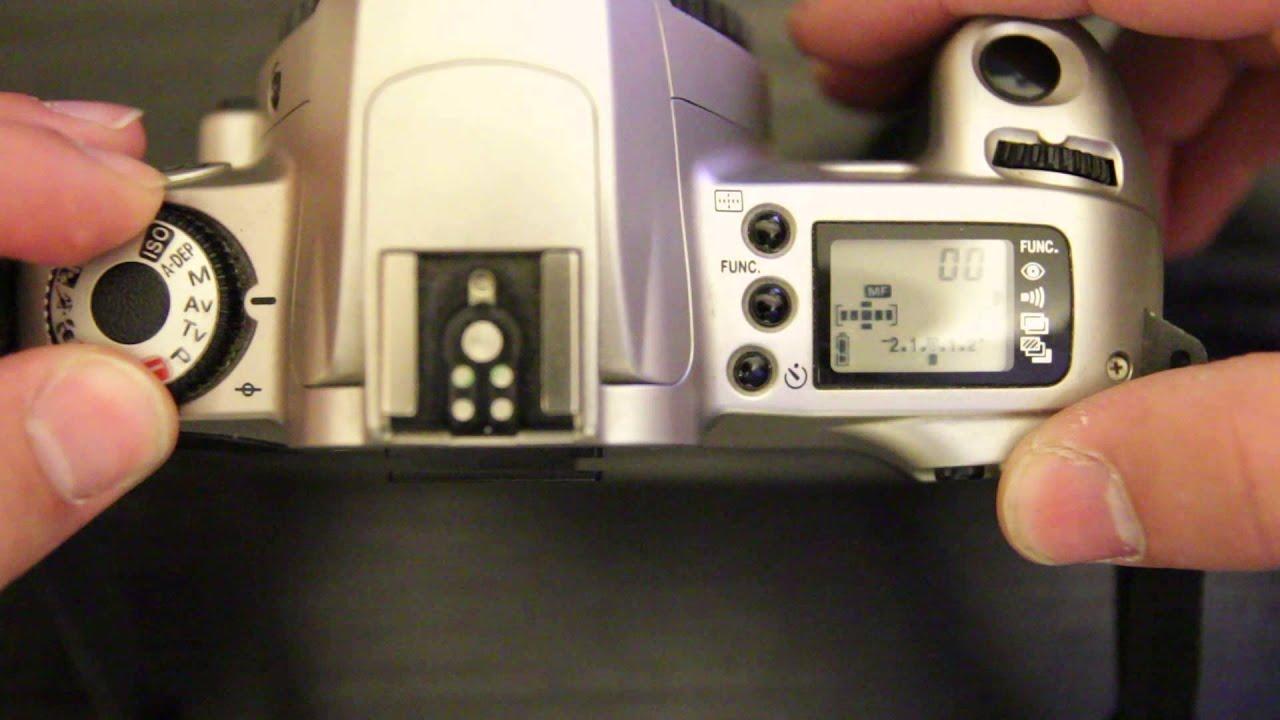canon eos 300 controls youtube rh youtube com Canon EOS 300 Manual PDF Canon EOS Rebel 300