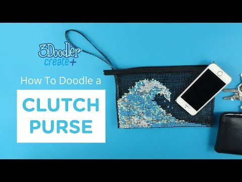 3D Pen Fashion | Clutch Purse Tutorial (EASY)