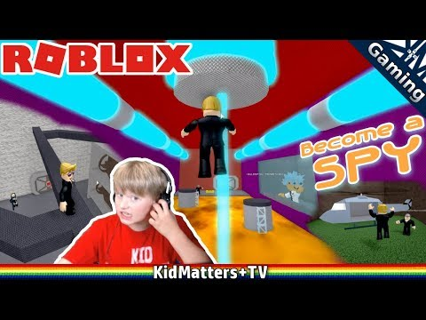 Becoming a kid spy and inflitrating Dr.Mad's Lair, watch out for Hot Lava | Roblox[KM+Gaming S01E50]
