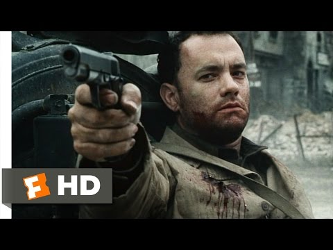 Saving Private Ryan (7/7) Movie CLIP - Capt. Miller