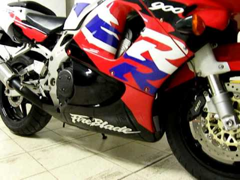 Honda Cbr 900 Rr Fireblade 1997 With Gpr Exhaust 3 Youtube
