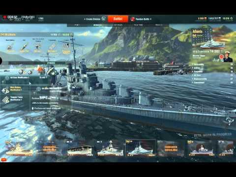 World of Warships guide - Pt. 1 - Port
