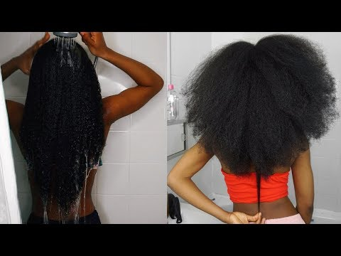 4 YEARS NATURAL LENGTH CHECK! | IS MY HAIR DAMAGED? | NATURAL HAIR GROWTH