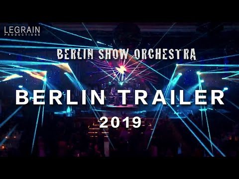 Berlin Show Orchestra live  at Presseball Berlin