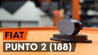 Montaje Pastillas De Freno delanteras y traseras FIAT PUNTO (188): vídeo gratis