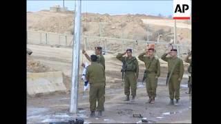Last Israeli soldiers leave Gaza at Kissufim, Israeli general