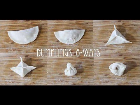 Dumplings 6-Ways | Pork & Cabbage Dumplings | Pot Stickers | Dim Sum Dumplings