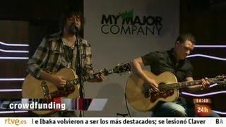 Reportaje de crowdfunding (My Major Company) en Cámara abierta thumbnail