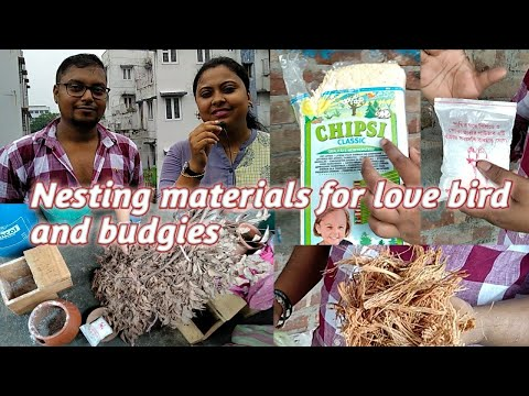 Nesting Materials For Love Bird And Budgies