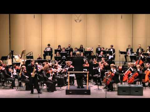 Paul Creston - Concerto for Alto Saxophone and Orchestra, Op. 26 (Shane Rathburn, alto saxophone)