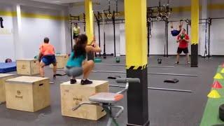 WOD Circuito CrossFit Boadilla 09102015