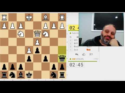 GM Ben Finegold plays 3 minute blitz on lichess.org - #2