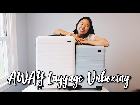 AWAY LUGGAGE REVIEW AND UNBOXING + $20 OFF PROMO CODE