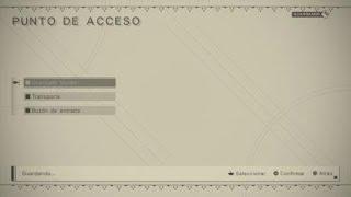 NieR:Automata acción 2d en el castillo