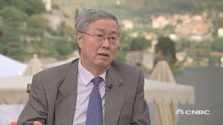 Former PBOC governor on potential trade war, China's economy | Ambrosetti 2018