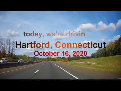 Driving to Hartford, Connecticut (10/18/2020)