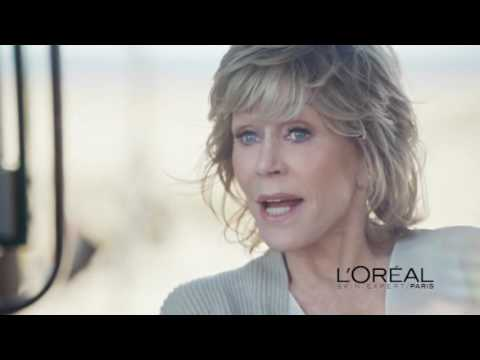 L'Oreal Paris Age Perfect Golden Age Jane Fonda Commercial 2016