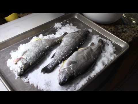 Salt Crusted Rainbow Trout/ Salt Crust Fish/ Best Fish Recipe/ Salt Crusted Fish/ Whole Salted Fish